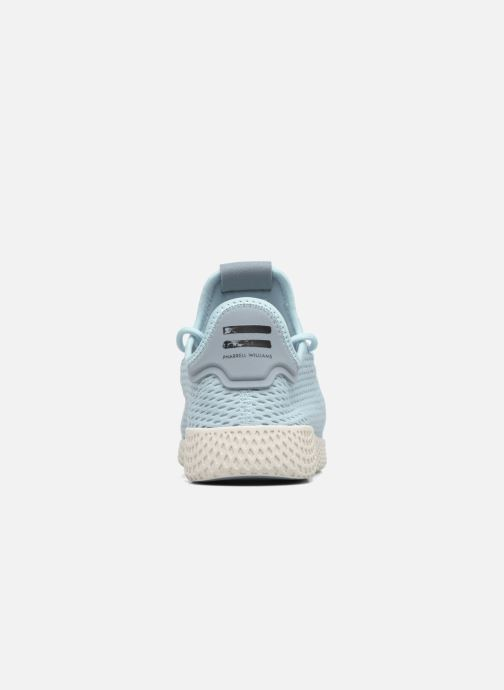 Sneakers adidas originals Pharrell Williams Tennis Hu J Blauw rechts