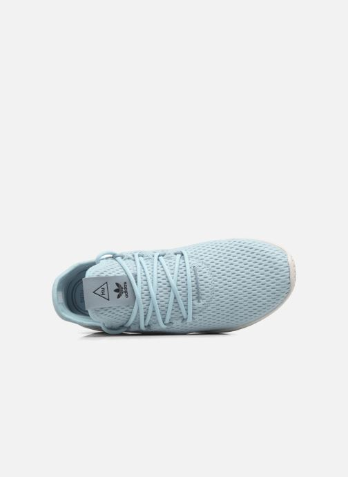 Sneakers adidas originals Pharrell Williams Tennis Hu J Blauw links