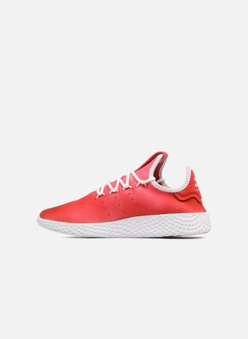 Baskets adidas originals Pharrell Williams Tennis Hu J Rouge vue face