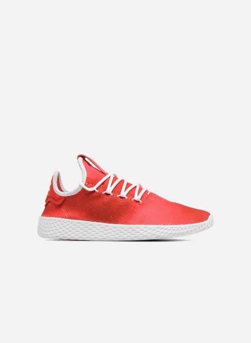 Baskets adidas originals Pharrell Williams Tennis Hu J Rouge vue derrière