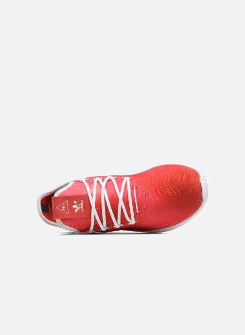 Baskets adidas originals Pharrell Williams Tennis Hu J Rouge vue gauche