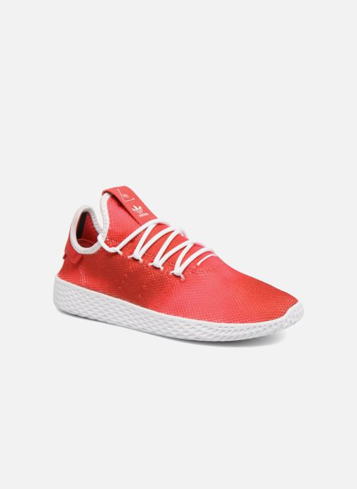 Baskets adidas originals Pharrell Williams Tennis Hu J Rouge vue détail/paire