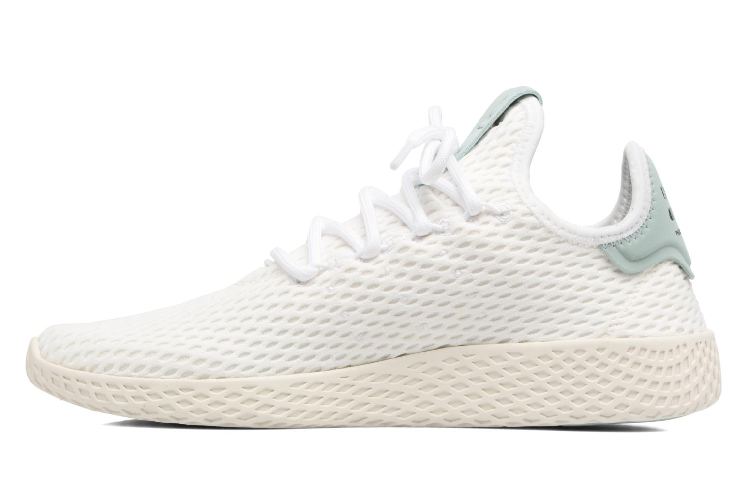 Sneaker Adidas Originals Pharrell Williams Tennis Hu J weiß ansicht von vorne
