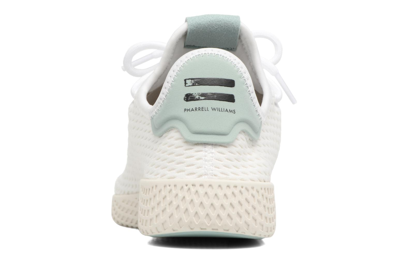 Baskets Adidas Originals Pharrell Williams Tennis Hu J Blanc vue droite