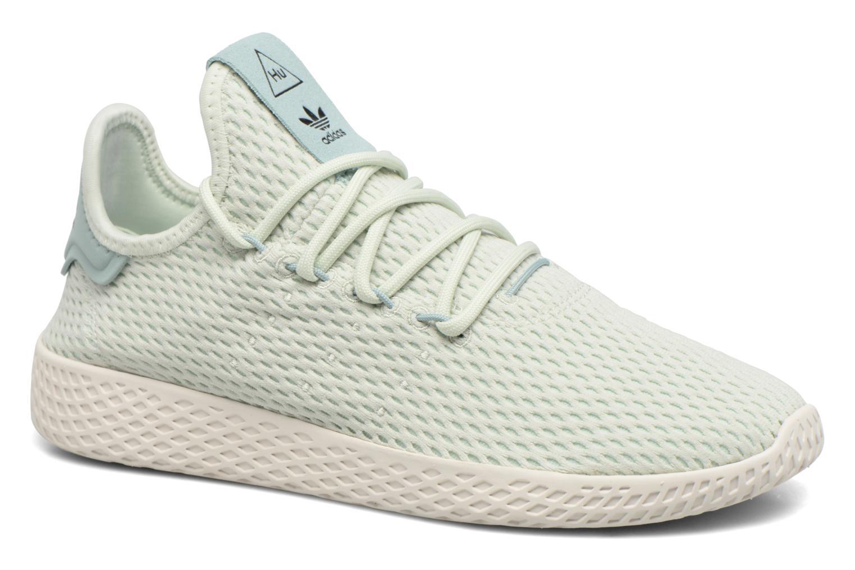 Sneakers Adidas Originals Pharrell Williams Tennis Hu J Verde vedi dettaglio/paio