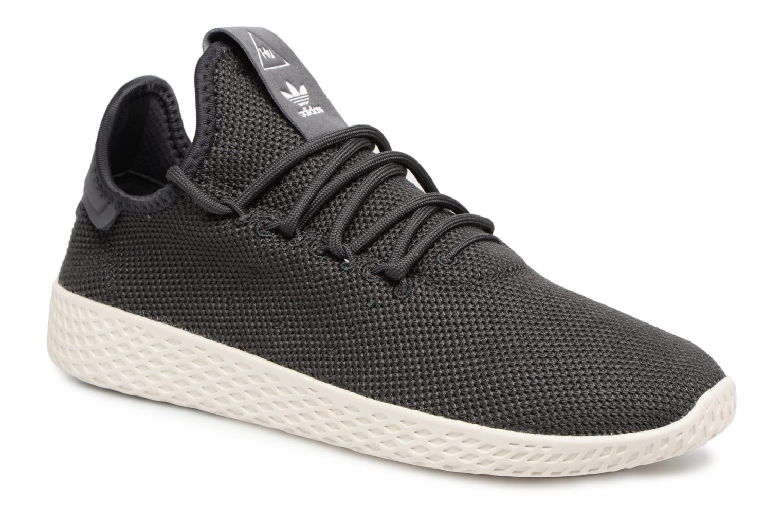 Baskets Adidas Originals Pharrell Williams Tennis Hu J Gris vue détail/paire
