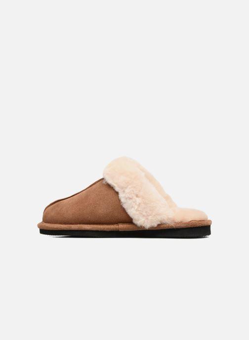 Pantoffels Giesswein Menden Bruin voorkant
