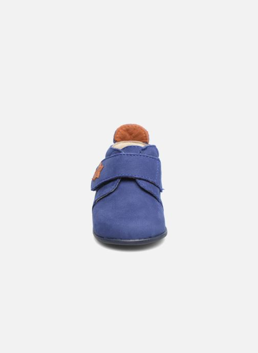 Slippers Bopy Pavel Blue model view
