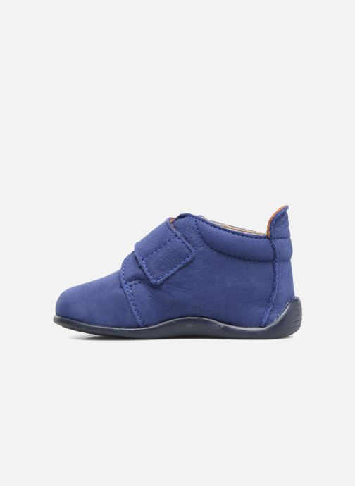Slippers Bopy Pavel Blue front view