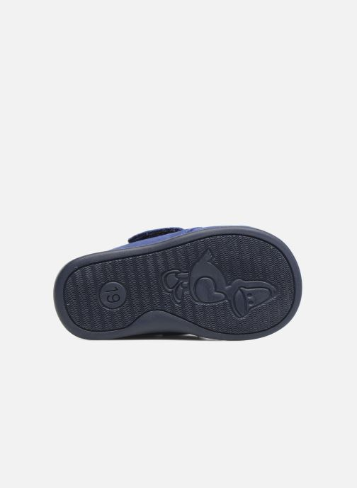 Slippers Bopy Pavel Blue view from above