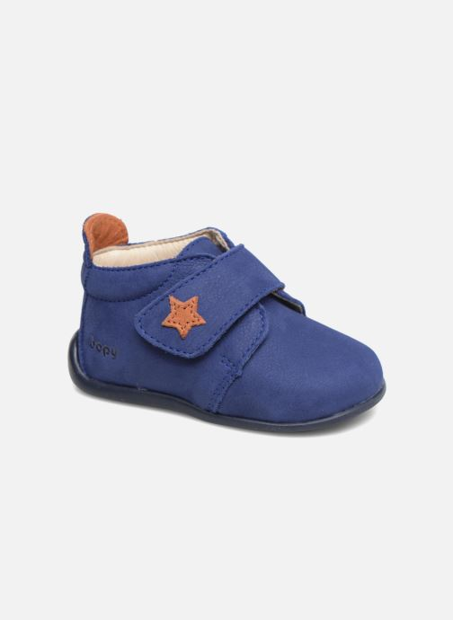 Slippers Bopy Pavel Blue detailed view/ Pair view