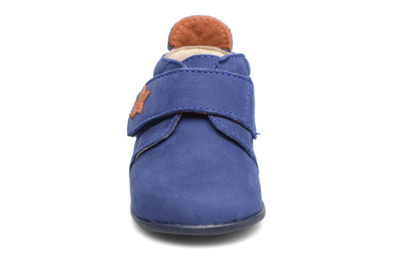 Chaussons Bopy Pavel Bleu vue portées chaussures