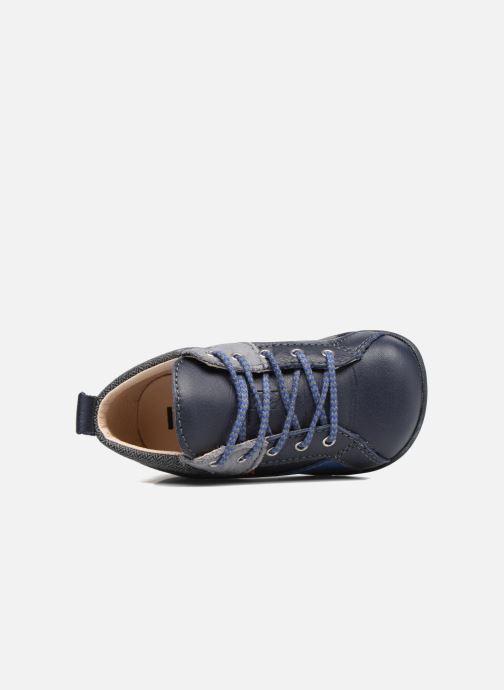 Chaussures à lacets Bopy Zorano Bleu vue gauche