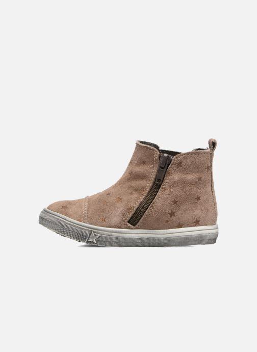 Ankle boots Bopy Bociel Beige front view