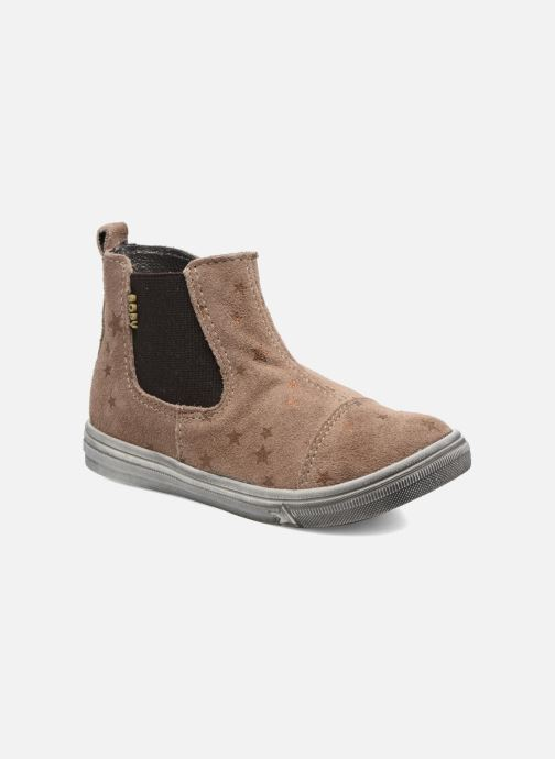 Bottines et boots Bopy Bociel Beige vue détail/paire