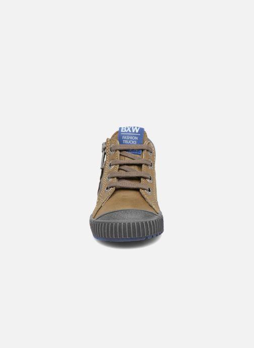 Baskets Bopy Bojan Vert vue portées chaussures