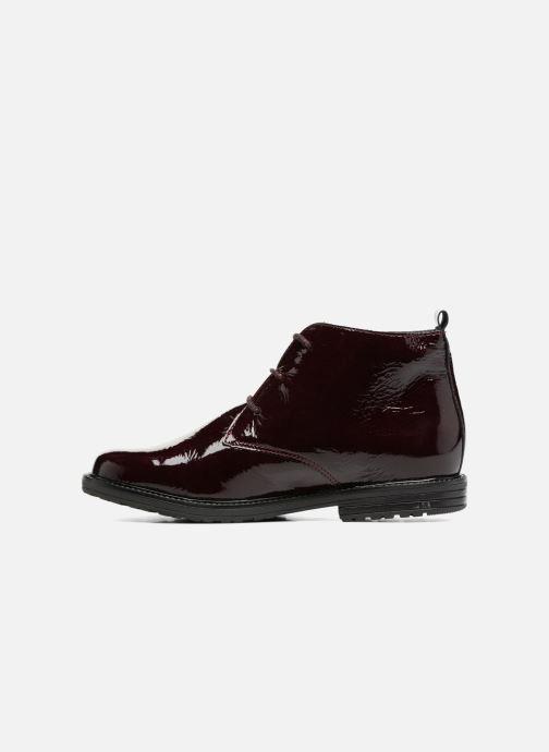 Zapatos con cordones Bopy Sitado Vino vista de frente