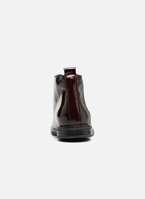 Lace-up shoes Bopy Sitado Burgundy view from the right