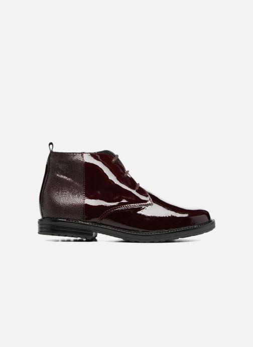 Zapatos con cordones Bopy Sitado Vino vistra trasera