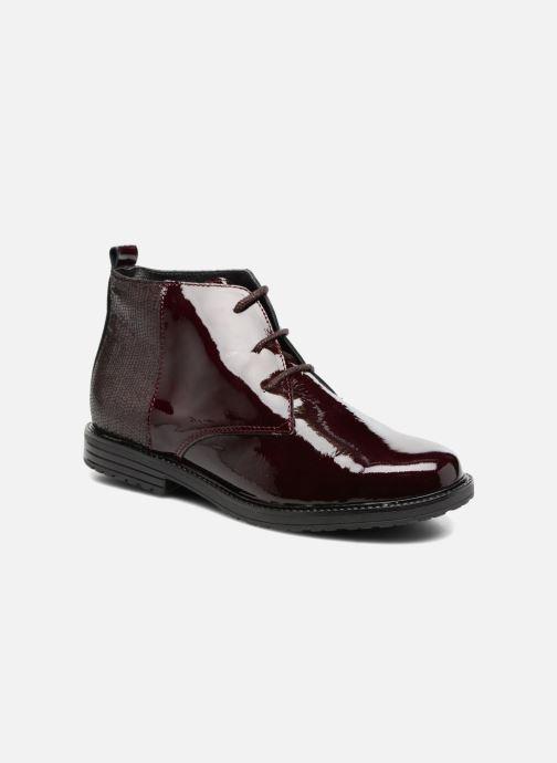 Zapatos con cordones Bopy Sitado Vino vista de detalle / par