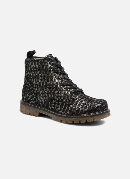 Ankle boots Bopy Sleuene Black detailed view/ Pair view