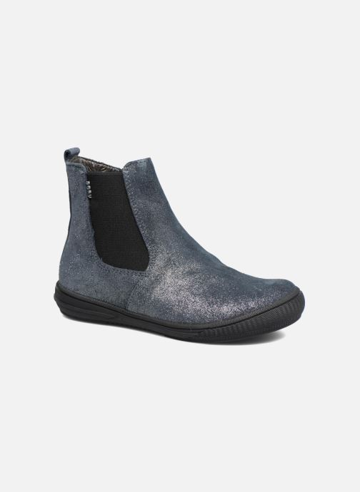 Ankle boots Bopy Sichou Blue detailed view/ Pair view