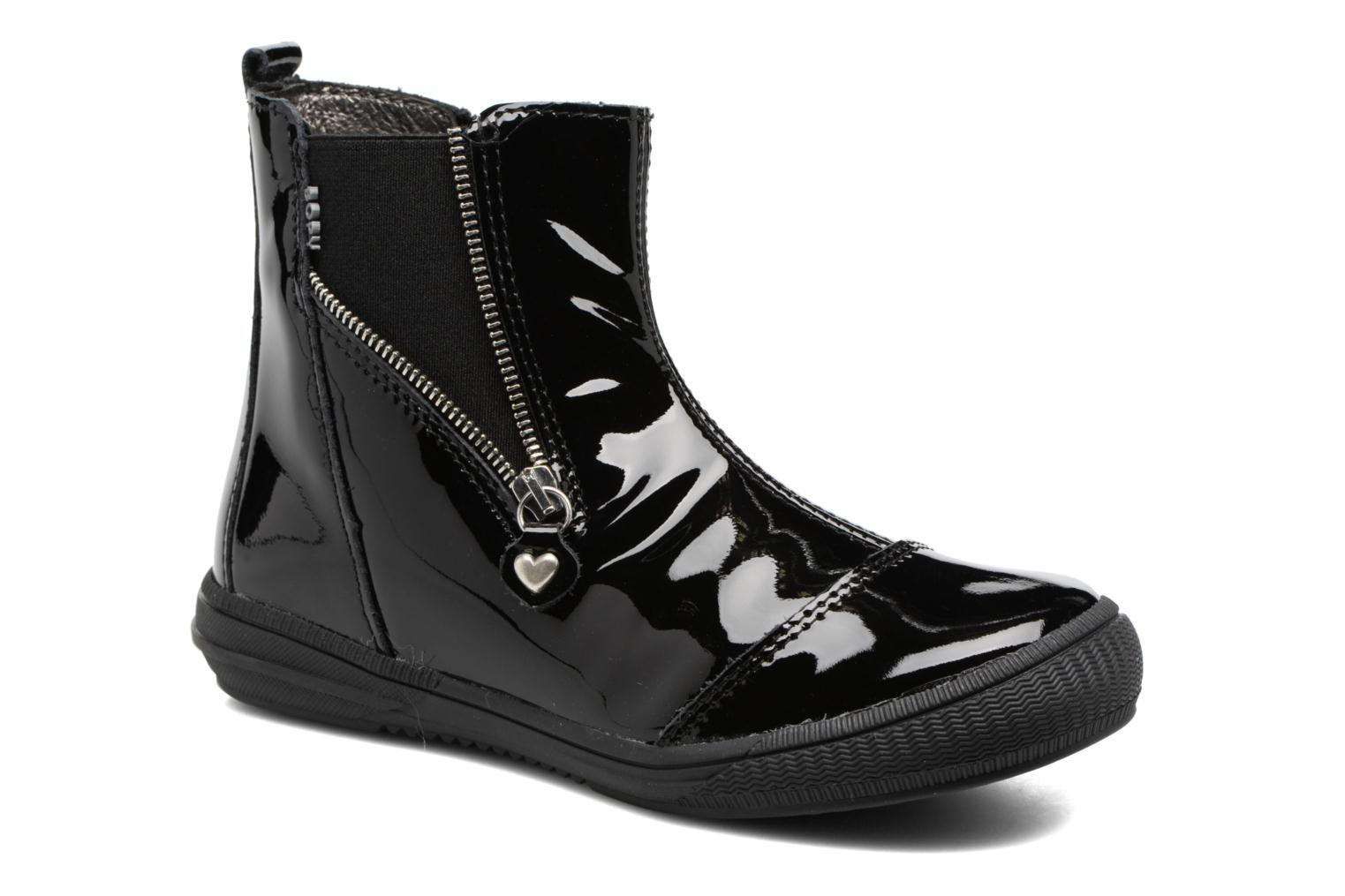 Ankle boots Bopy Shanel Black detailed view/ Pair view