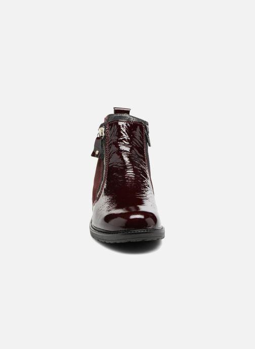 Stiefeletten & Boots Bopy Strobel weinrot schuhe getragen