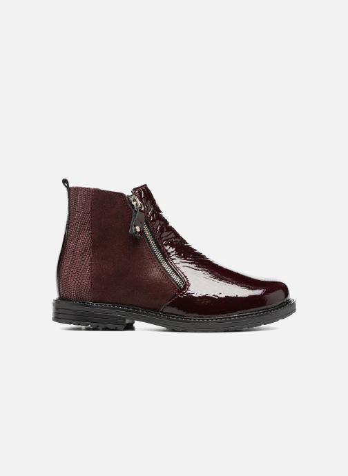 Stiefeletten & Boots Bopy Strobel weinrot ansicht von hinten