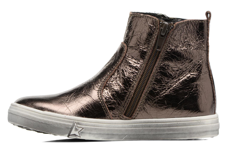 Bottines et boots Bopy Siane Or et bronze vue face