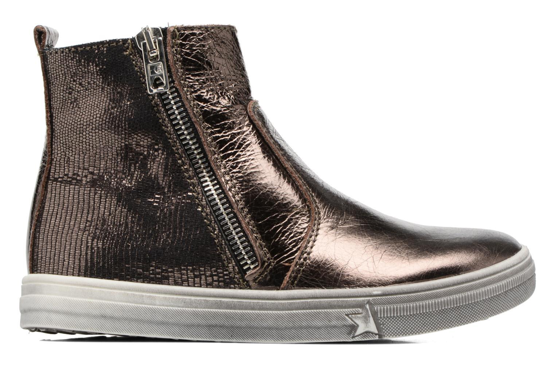 Bottines et boots Bopy Siane Or et bronze vue derrière