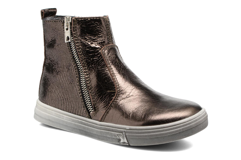 Bottines et boots Bopy Siane Or et bronze vue détail/paire