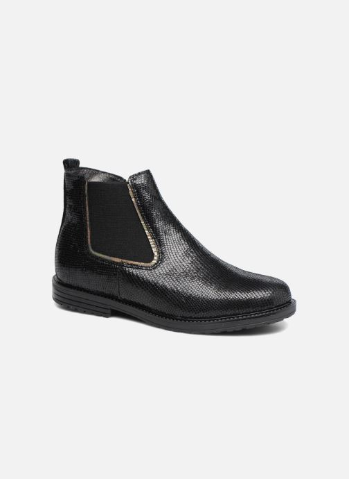 Ankle boots Bopy Salouna Black detailed view/ Pair view