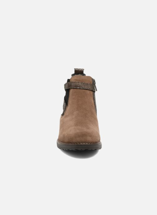 Ankle boots Bopy Sisley Beige model view