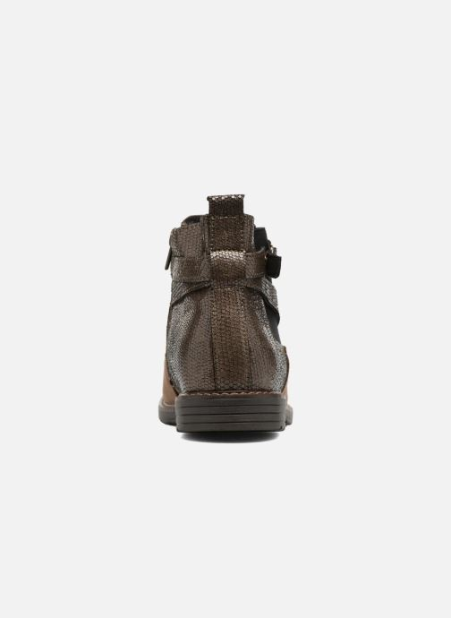 Ankle boots Bopy Sisley Beige view from the right