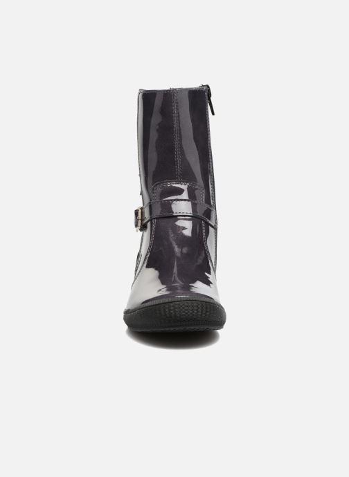 Bottes Bopy Slavika Gris vue portées chaussures