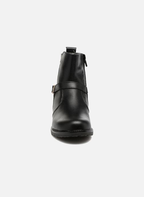 Bottes Bopy Siro Noir vue portées chaussures