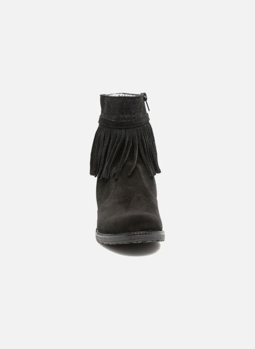 Bottes Bopy Stereo Noir vue portées chaussures