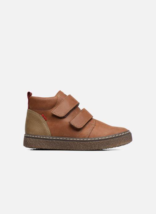 Sneakers Bopy Vlaise Bruin achterkant