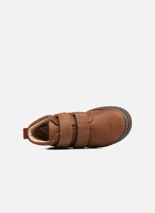 Sneakers Bopy Vlaise Bruin links