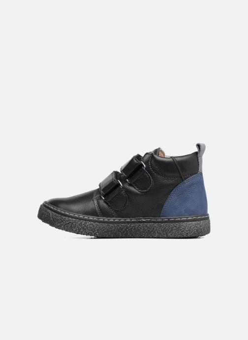 Sneaker Bopy Vlaise schwarz ansicht von vorne