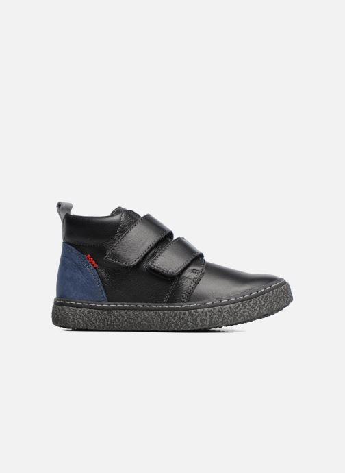 Sneaker Bopy Vlaise schwarz ansicht von hinten