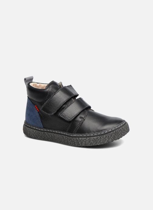 Sneakers Bopy Vlaise Zwart detail