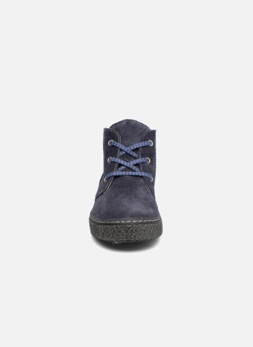 Zapatos con cordones Bopy Vritish Azul vista del modelo