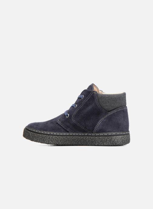 Zapatos con cordones Bopy Vritish Azul vista de frente
