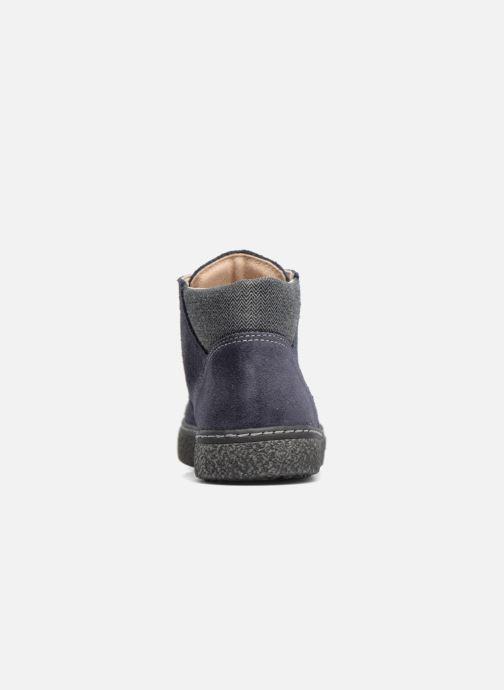 Zapatos con cordones Bopy Vritish Azul vista lateral derecha