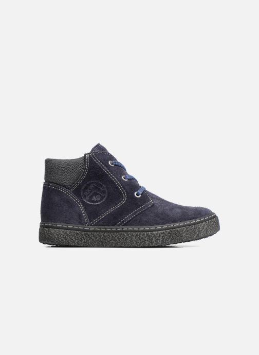 Zapatos con cordones Bopy Vritish Azul vistra trasera