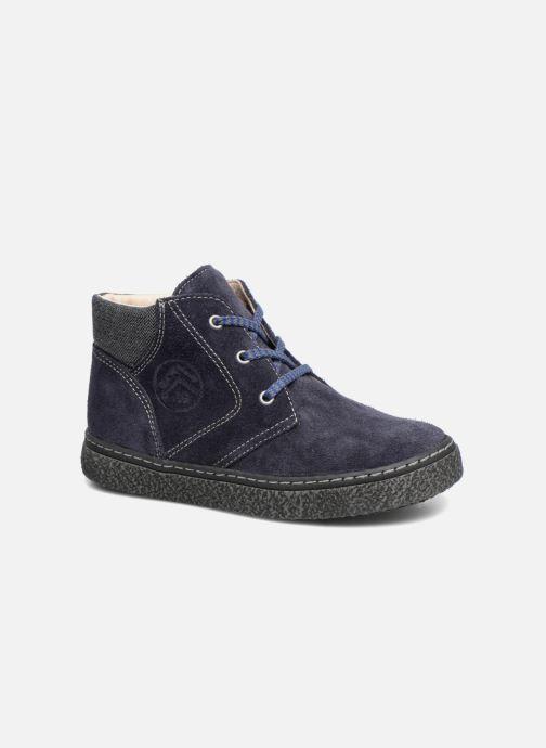 Chaussures à lacets Bopy Vritish Bleu vue détail/paire
