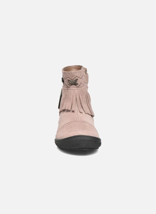 Ankle boots Bopy Negrila Lilybellule Beige model view