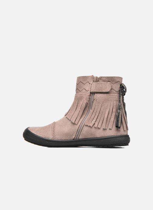 Ankle boots Bopy Negrila Lilybellule Beige front view